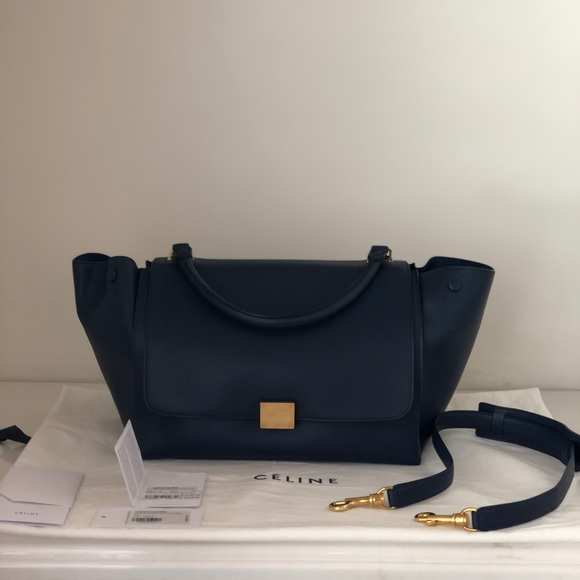 64a5525450 NWT Celine Medium Trapeze Bag